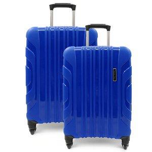Комплект чемоданов. PP-02 blue (4 колеса)