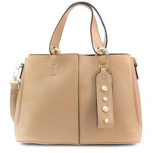 Женская сумка Borgo Antico. 9052 apricot