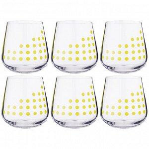 """Набор стаканов из 6 шт. """"sandra"""" 290 мл. высота=9 см"""