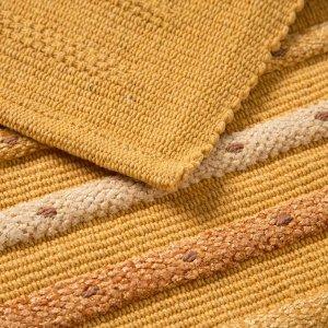 Ковер New Levanto. 50 х 80 ± 3 см. цвет желтый.