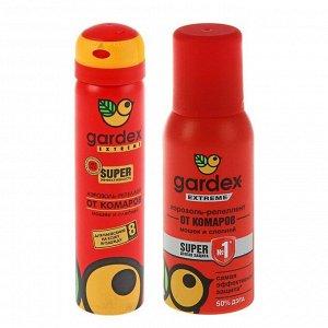 Аэрозоль от комаров и других насекомых Gardex Extreme Super, 80 мл