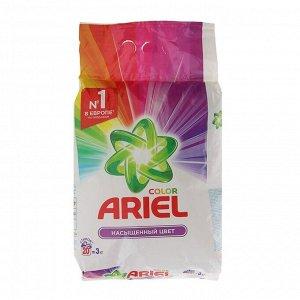 Порошок стиральный Ariel автомат Color, 3 кг