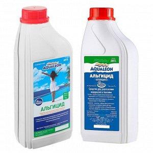 Альгицид Aqualeon непенящийся, 1 л (1 кг)