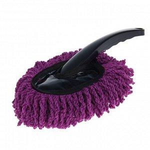 Щётка для удаления пыли, автомобильная, 30 см, микрофибра, микс