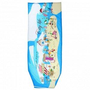 Чехол для гладильной доски Nika, 129?51 см, с поролоном, рисунок МИКС