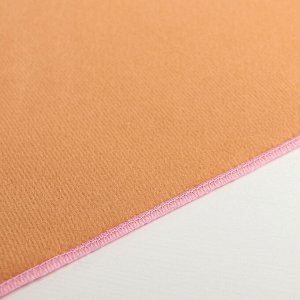 Салфетка для сушки посуды Доляна «Фламинго», 34?50 см, лён