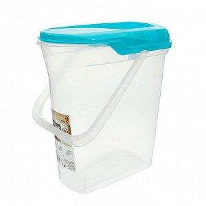 Контейнер для стирального порошка, 6 л, цвет МИКС