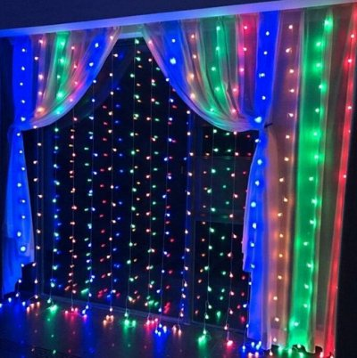 Гирлянда-занавес от 499 руб🎅 Праздник к нам приходит — Гирлянды LED — Все для Нового года