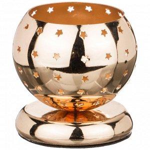 Подсвечник диаметр=8 см высота=8 см (кор=40шт.)