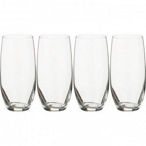"""Набор стаканов для воды из 4 шт. """"бар"""" 470 мл.высота=16 см.(кор=12набор.)"""
