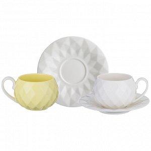 Чайный набор на 2 персоны, 4 пр., 200 мл. (кор=24набор.)