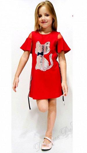 Платье Deloras 18442 Красный *