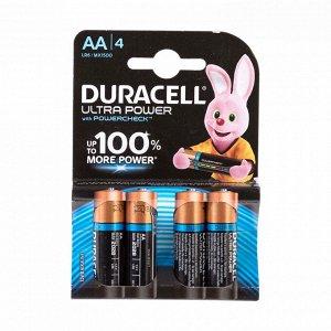 Батарейки DURACELL LR 6-4BL Ultra Power (80)