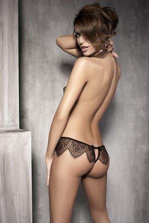 Трусики с кружевными вставками Anais Abbigail и доступом сзади, черный, L