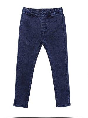 Брюки джинсовые для девочек утеплённые