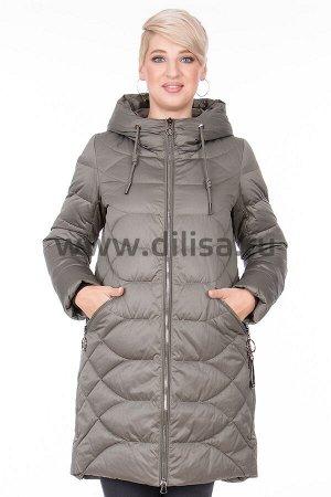 Пальто без меха Mishele 18048._Р (Олива 058)