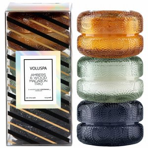 Подарочный набор «Японская коллекция» в подсвечниках макарон