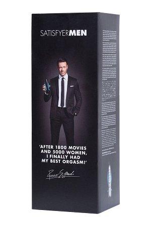 Мастурбатор нереалистичный Satisfyer  Men, Силикон, Чёрный, 25,5 см