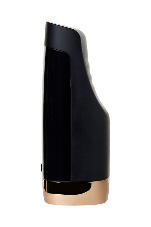 Мастурбатор нереалистичный Sirens, силикон, чёрный, 21,5 см