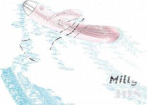Пульсатор и вибратор с функцией подогрева JOS MILLY, силикон, розовый, 20 см