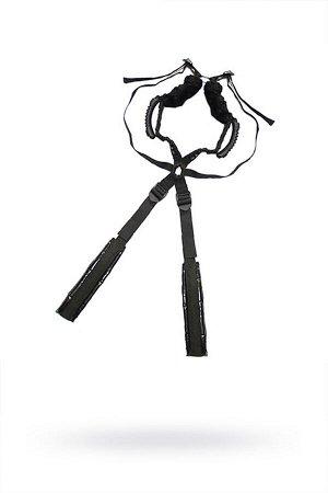 Комплект бондажный Roomfun Sex Harness Bondage на сбруе, чёрный