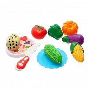 "Набор продуктов для нарезки на липучках ""Фруктово-овощной микс-2"", цвета МИКС"