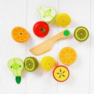 Набор продуктов в ящике «Сочные фрукты»
