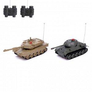 Танковый бой «Военная стратегия», на радиоуправлении, в наборе 2 танка