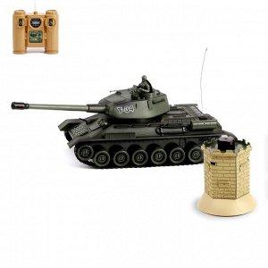 Танк радиоуправляемый «Т-34», с аккумулятором, с бункером