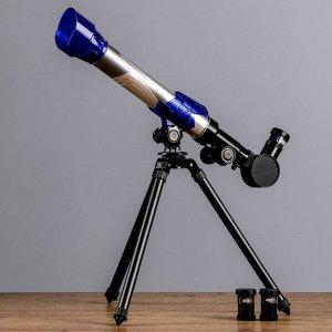 Телескоп настольный 20х,30х,40x, 170мм C2131, микс цвет