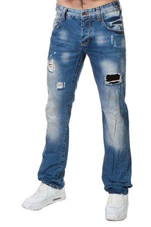 Потёртые мужские джинсы – клубная линейка для парней. Скидки! №258