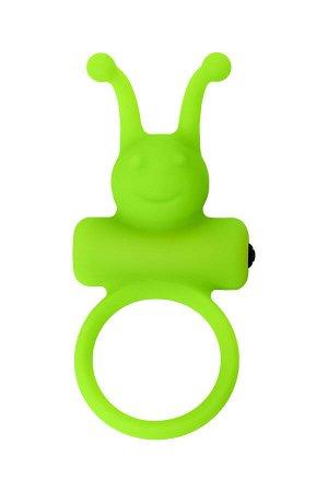 Эрекционное кольцо на пенис A-Toys by TOYFA, силикон, зеленый, ? 3,1 см