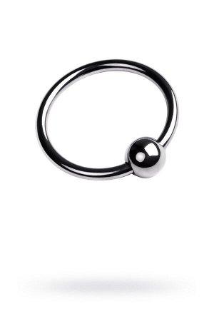 Кольцо на головку пениса, TOYFA Metal, серебристое