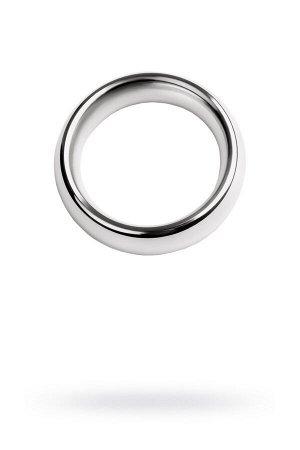 Эрекционное кольцо на пенис Metal by TOYFA  , Металл, Серебристый, ? 4 см
