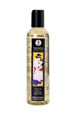 Масло для массажа Shunga Irresistible «Asian Fusion», натуральное, возбуждающее, с ароматом азиатски