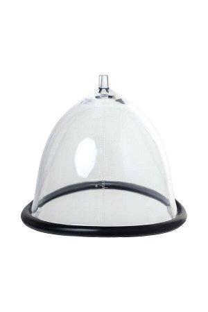 Помпа для груди SAIZ Premium - Small, силикон+ABS пластик, чёрный, 60 см