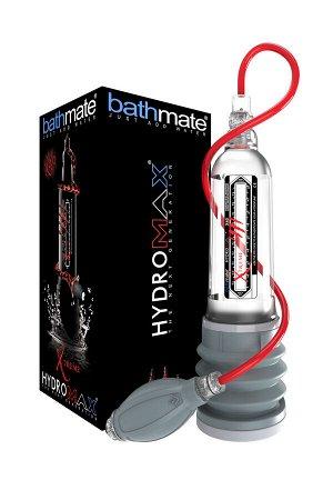 Гидропомпа Bathmate Hydromax Xtreme X40, прозрачная, 32,5 см