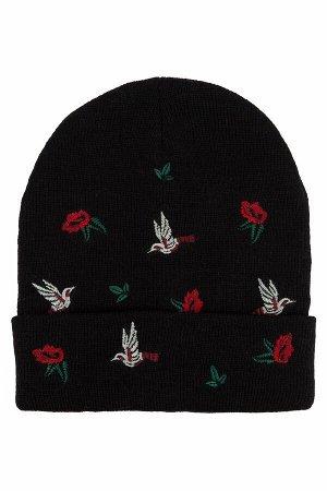 Классная шапка с вышивкой