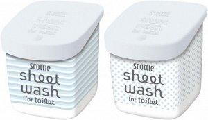 Влажные полотенца (водорастворимые, с антибактериальным эффектом, для обработки туалета, с легким мятным ароматом) 10шт