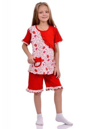 Рюша пижама короткий рукав