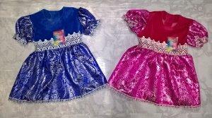 Парча платье детское