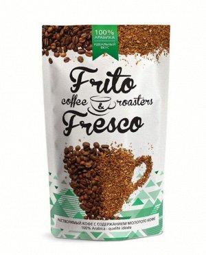 Кофе растворимый сублимированный с добавлением молотого