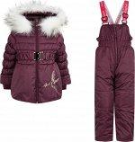 Комплект (куртка, полукомбинезон) для девочки
