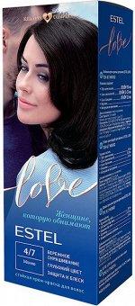 EL4/7 Стойкая крем-краска  для волос ESTEL LOVE тон 4/7  Мокко