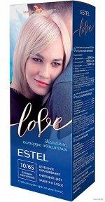 EL10/65 Стойкая крем-краска  для волос ESTEL LOVE тон 10/65 Блондин жемчужный