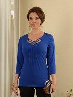 Арт. 0365Д блузка c плетением