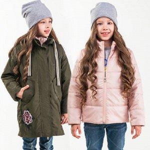 Куртка - парка с пристежкой для девочки