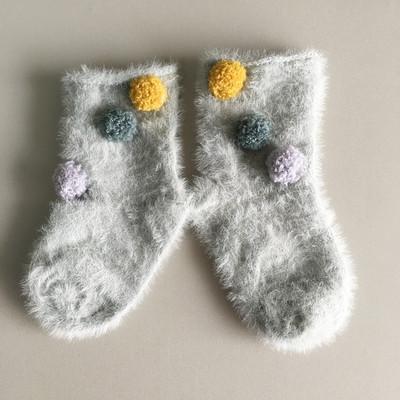 Плюшевые новинки! Теплые, мягкие пижамки, халатики, флис! — Махровые носки детские — Носки и гольфы