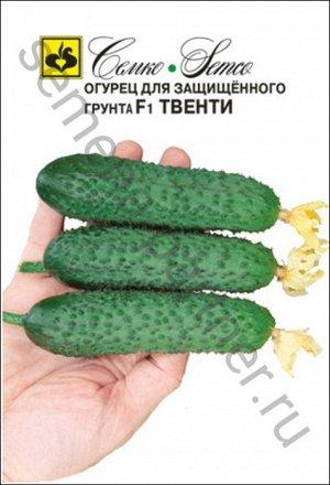 ТМ Семко Огурец партенокарпический Твенти F1/ гибриды с длиной плодов 12-24 см