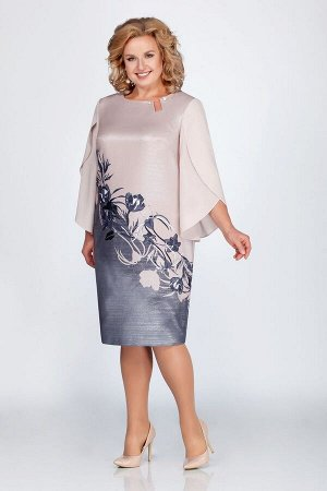 Платье LaKona Артикул: 1090-1 пудра